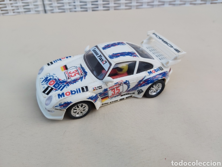 PORSCHE 911 LEASE PLAN MOBIL 1 SCALEXTRIC TYCO (Juguetes - Slot Cars - Scalextric Tyco)