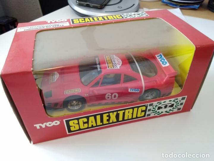 SCALEXTRIC FERRARI F-40 CLUB SCALEXTRIC TYCO (Juguetes - Slot Cars - Scalextric Tyco)