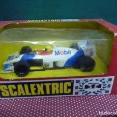 "Scalextric: COCHE SCALEXTRIC FORMULA INDY ""MOBIL"" NO.8354,FABRICADO POR TYCO. Lote 222451752"
