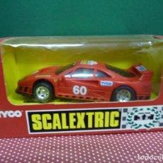 """Scalextric: COCHE SCALEXTRIC FERRARI F-40 """"SCALEXTRIC CLUB"""" NO.8545C.09,FABRICADO POR TYCO. Lote 222457330"""