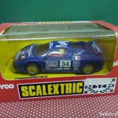 """Scalextric: COCHE SCALEXTRIC BUGATI EB-110 """"LE MANS"""" NO.8386.09,FABRICADO POR TYCO. Lote 222457750"""