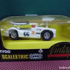 Scalextric: COCHE SCALEXTRIC CHAPARRAL GT VINTAGE NO.83839.09 FABRICADO POR TYCO EN SU EDICIÓN VINTAGE. Lote 222458567