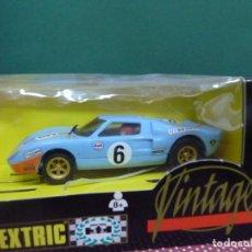 Scalextric: COCHE SCALEXTRIC FORD GT40 VINTAGE NO.8394.09 FABRICADO POR TYCO. Lote 222459345