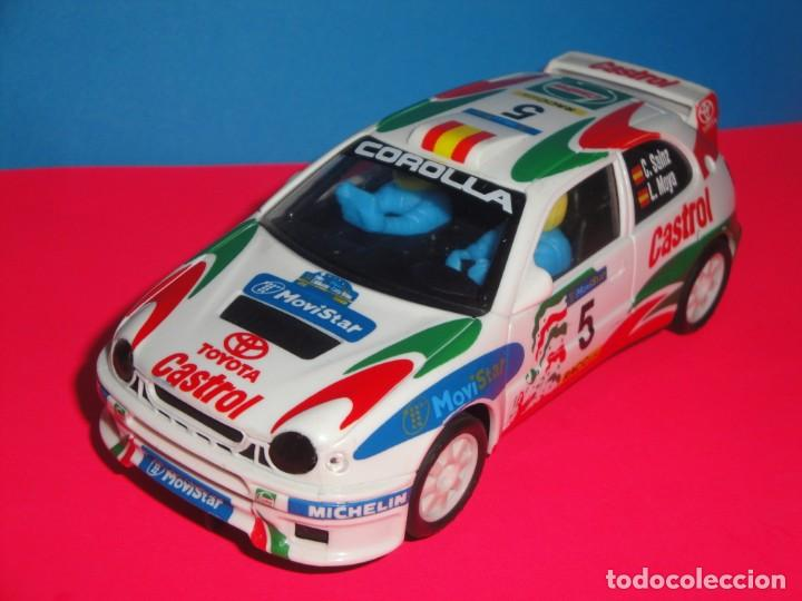 TOYOTA COROLLA WRC CARLOS SAINZ. SCALEXTRIC (Juguetes - Slot Cars - Scalextric Tyco)