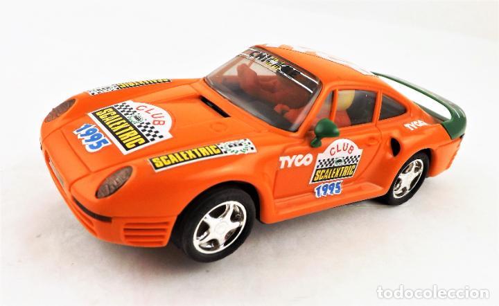 SLOT TYCO CLUB SCALEXTRIC 1995 PORSCHE 959 (Juguetes - Slot Cars - Scalextric Tyco)