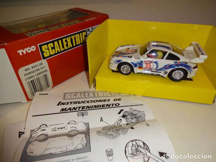 Scalextric: Scalextric. Porsche 911 GT3 1996. Le Mans. Ref. 8331 - Foto 2 - 224410156