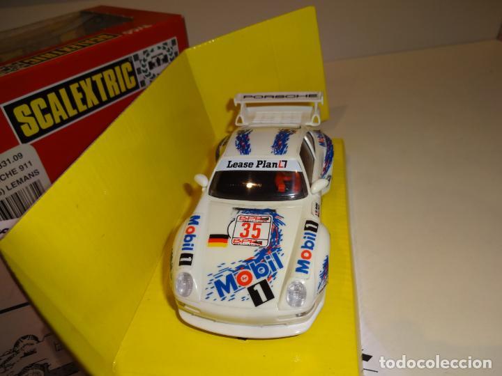 Scalextric: Scalextric. Porsche 911 GT3 1996. Le Mans. Ref. 8331 - Foto 4 - 224410156
