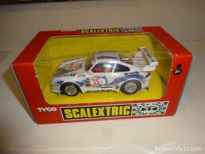 SCALEXTRIC. PORSCHE 911 GT3 1996. LE MANS. REF. 8331 (Juguetes - Slot Cars - Scalextric Tyco)