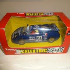 Scalextric: SCALEXTRIC. BUGATTI EB-110 LE MANS, AZUL. REF. 8386. Lote 224410453