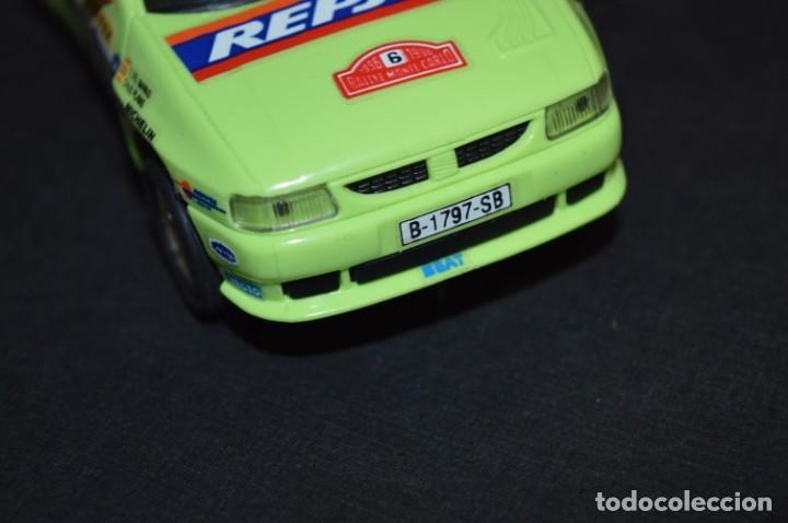 Scalextric: Seat Ibiza Repsol - Chus Puras / Del Barrio - Montecarlo 1996 / TYCO Ref. 83750 ¡Buen estado, MIRA! - Foto 6 - 224512608