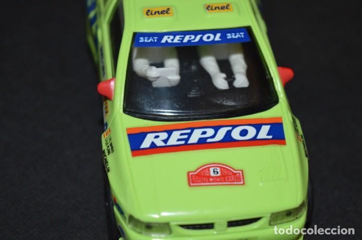 Scalextric: Seat Ibiza Repsol - Chus Puras / Del Barrio - Montecarlo 1996 / TYCO Ref. 83750 ¡Buen estado, MIRA! - Foto 8 - 224512608
