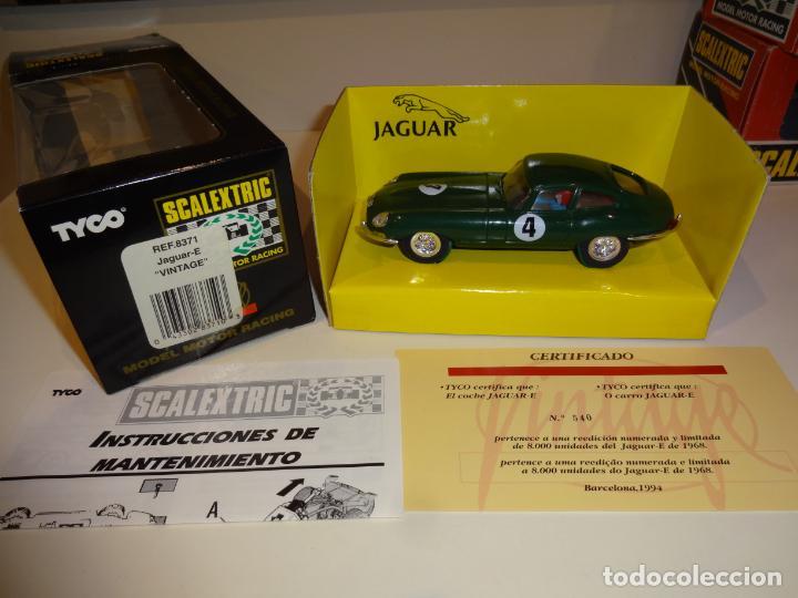 Scalextric: Scalextric. Jaguar E Vintage. Ref. 8371 - Foto 2 - 224755486
