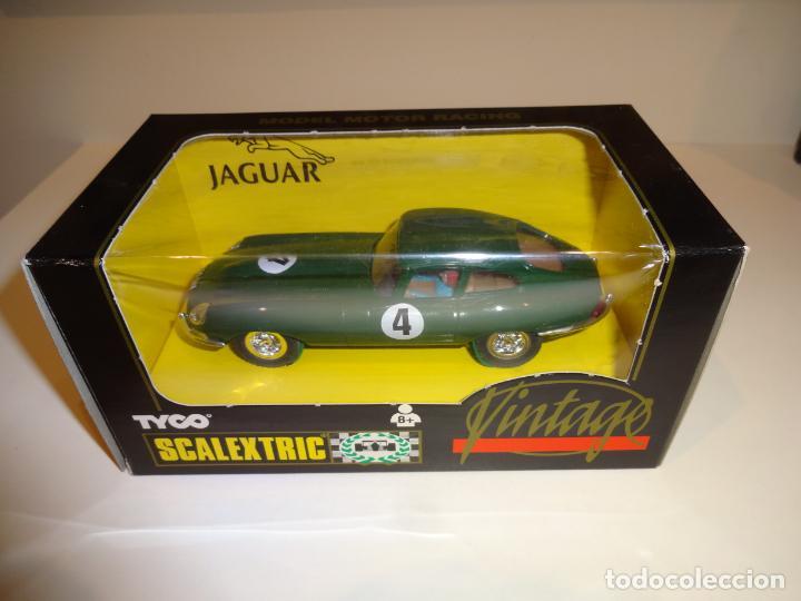 SCALEXTRIC. JAGUAR E VINTAGE. REF. 8371 (Juguetes - Slot Cars - Scalextric Tyco)
