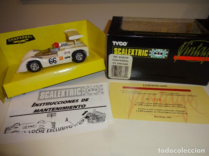 Scalextric: Scalextric. Chaparral Vintage. Ref. 8339 - Foto 2 - 224755993