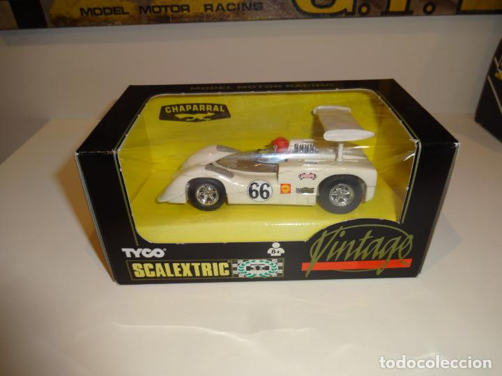 SCALEXTRIC. CHAPARRAL VINTAGE. REF. 8339 (Juguetes - Slot Cars - Scalextric Tyco)