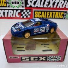 Scalextric: BUGATTI EB 110 LM #34 MONTECARLO SCALEXTRIC CON LUCES!!. Lote 225783010