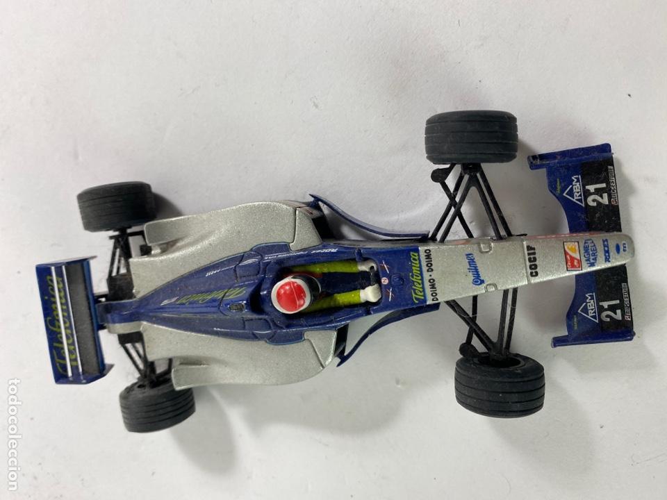 COCHE SCALEXTRIC MINARDI F1. (Juguetes - Slot Cars - Scalextric Tyco)