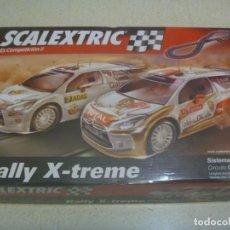Scalextric: SCALEXTRIC : RALLY X - TREME . CIRCUITO C 2 , 1 : 32 , CON COCHES CITROEN DS3. Lote 231536775