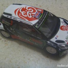 Scalextric: SCALEXTRIC : COCHE CITROEN DS3 WRG - ABU DHABI . MADE IN CHINA. Lote 231669385