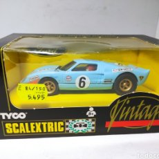 Scalextric: SCALEXTRIC FORD GT40 VINTAGE TYCO REF. 8394.09. Lote 239894105