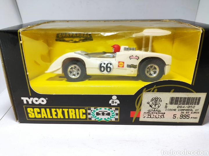 SCALEXTRIC CHAPARRAL GT VINTAGE TYCO REF. 8339.09 (Juguetes - Slot Cars - Scalextric Tyco)