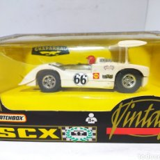 Scalextric: SCALEXTRIC CHAPARRAL GT VINTAGE TYCO VERSIÓN SCX REF.83390.20. Lote 240774695