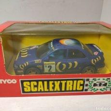 Scalextric: SCALEXTRIC SUBARU IMPREZA CON LUZ 4X4 TYCO REF. 8377. Lote 244964200