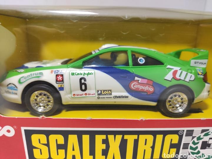 Scalextric: SCALEXTRIC TOYOTA CELICA 7 UP TYCO REF. 8356.09 SEVEN UP - Foto 3 - 244965155