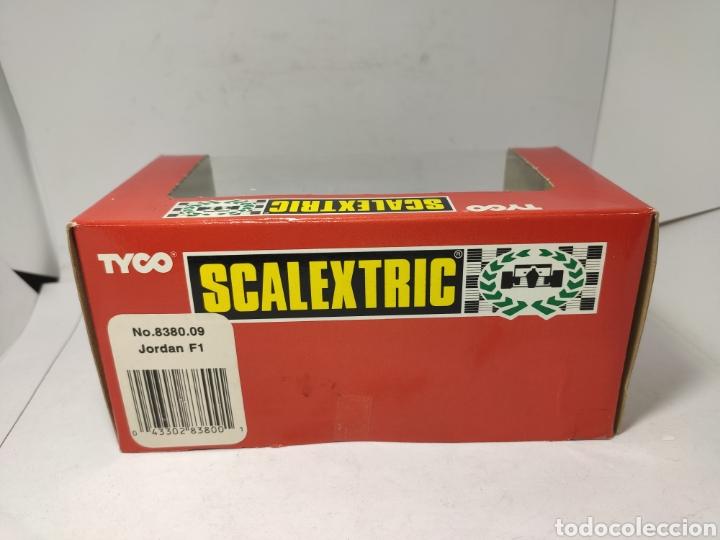 Scalextric: SCALEXTRIC JORDAN F1 TYCO REF. 8380.09 SASOL - Foto 3 - 244965685