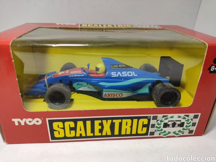 SCALEXTRIC JORDAN F1 TYCO REF. 8380.09 SASOL (Juguetes - Slot Cars - Scalextric Tyco)