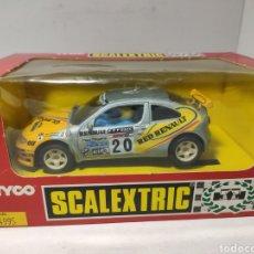 Scalextric: SCALEXTRIC RENAULT MEGANE COSTA BRAVA TYCO REF. 8328.09. Lote 244966005