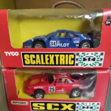 Scalextric: SCX Y TYCO. Lote 244982635