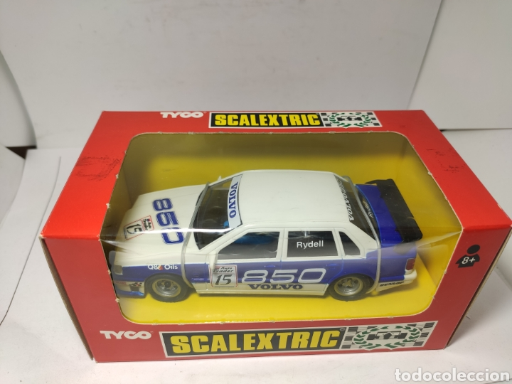 Scalextric: SCALEXTRIC VOLVO 850T RYDELL REF. 8391.09 TYCO - Foto 2 - 245157330