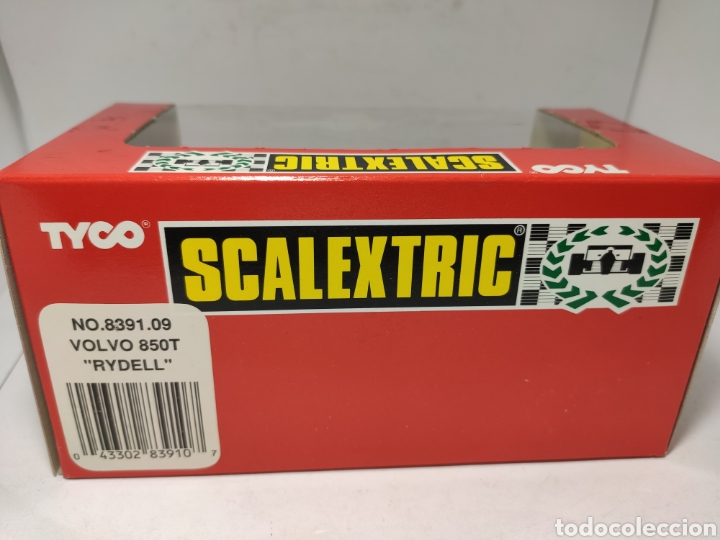 Scalextric: SCALEXTRIC VOLVO 850T RYDELL REF. 8391.09 TYCO - Foto 3 - 245157330