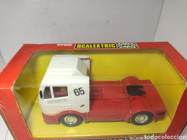 Scalextric: SCALEXTRIC CAMION MERCEDES TRUCK ANTAR TYCO REF. 8365.09 - Foto 2 - 245157625