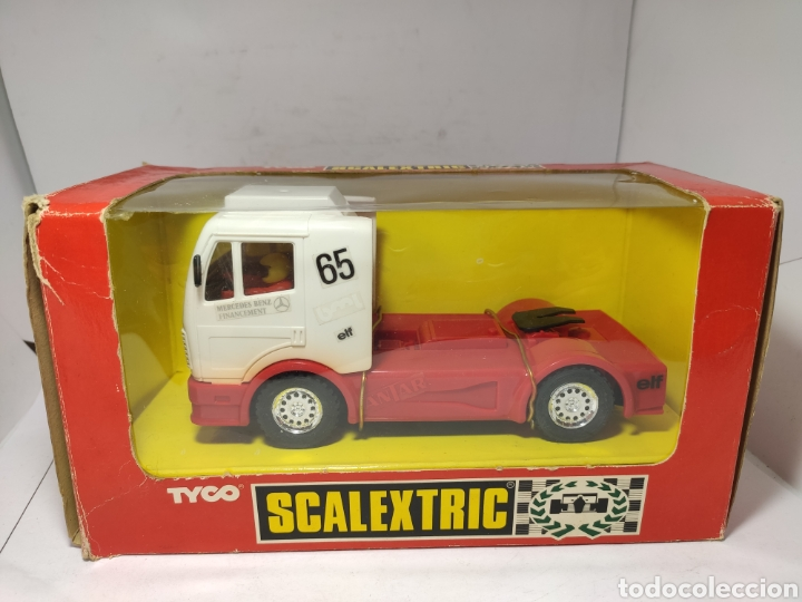 SCALEXTRIC CAMION MERCEDES TRUCK ANTAR TYCO REF. 8365.09 (Juguetes - Slot Cars - Scalextric Tyco)