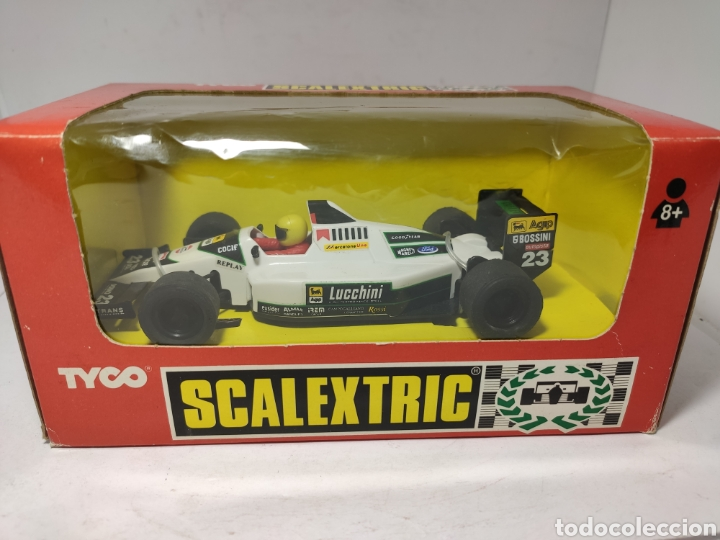 SCALEXTRIC MINARDI F1 TYCO REF. 8399.09 (Juguetes - Slot Cars - Scalextric Tyco)