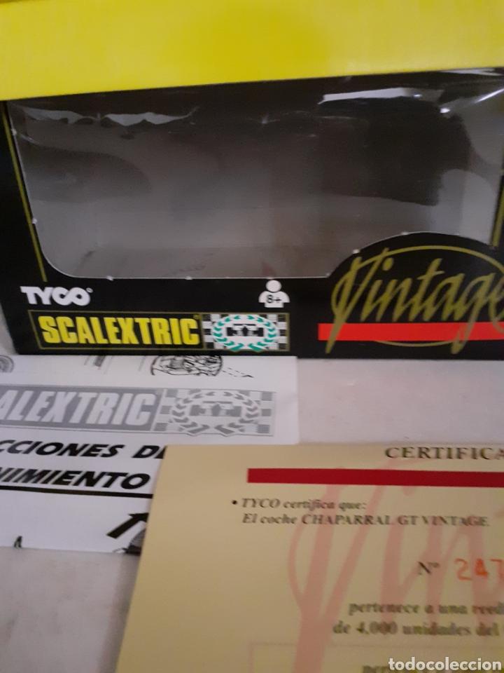 Scalextric: SCALEXTRIC TYCO VINTAGE CHAPARRAL EN CAJA - Foto 3 - 246235115