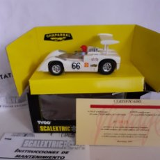 Scalextric: SCALEXTRIC TYCO VINTAGE CHAPARRAL EN CAJA. Lote 246235115