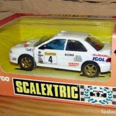 Scalextric: SCALEXTRIC - TYCO - SUBARU - IGOL - NUEVO, NUNCA ABIERTO - REF. 8358.09. Lote 247720855