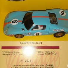 Scalextric: SCALEXTRIC TYCO FORD GT VINTAGE.. Lote 252209270