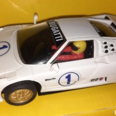 "Scalextric: SCALEXTRIC TYCO BUGATTI EB-110 ""SUPERSPORT"". Lote 252210580"