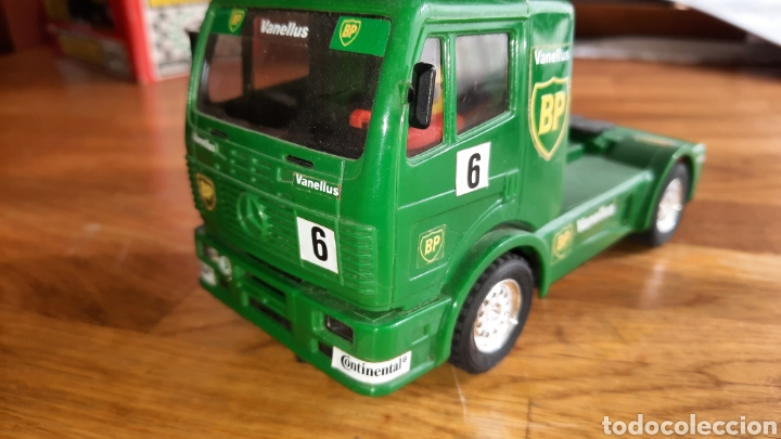 SCALEXTRIC TYCO CAMION MERCEDES BP. (Juguetes - Slot Cars - Scalextric Tyco)