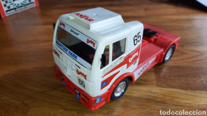 SCALEXTRIC TYCO CAMION MERCEDES ANTAR. (Juguetes - Slot Cars - Scalextric Tyco)