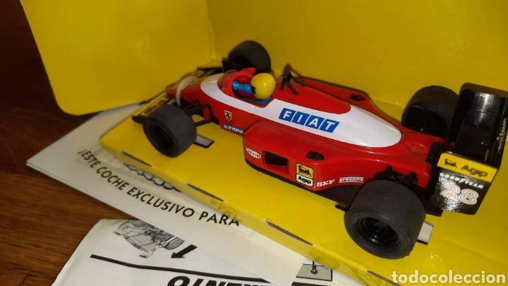 Scalextric: Scalextric Tyco FERRARI F-1 FIAT. - Foto 3 - 252606395