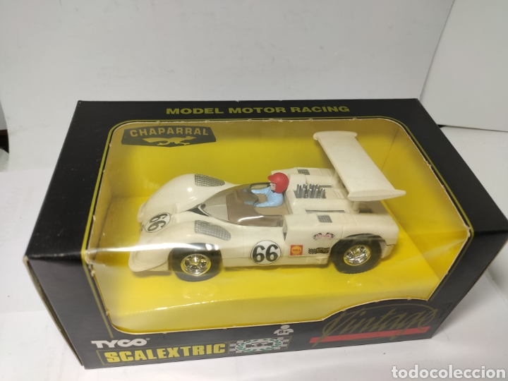 Scalextric: SCALEXTRIC CHAPARRAL GT VINTAGE TYCO REF. 8339.09 - Foto 2 - 252674490