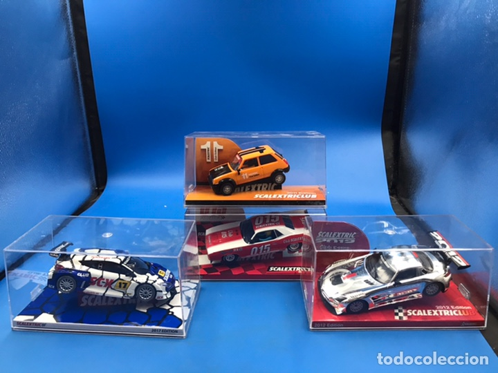 LOTE SCALEXTRIC CLUB VER FOTOS (Juguetes - Slot Cars - Scalextric Tyco)