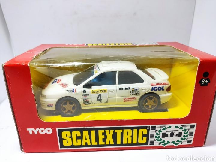 Scalextric: SCALEXTRIC SUBARU IGOL TYCO REF. 8358.09 - Foto 4 - 260852870