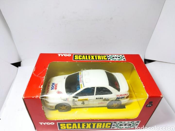 Scalextric: SCALEXTRIC SUBARU IGOL TYCO REF. 8358.09 - Foto 5 - 260852870