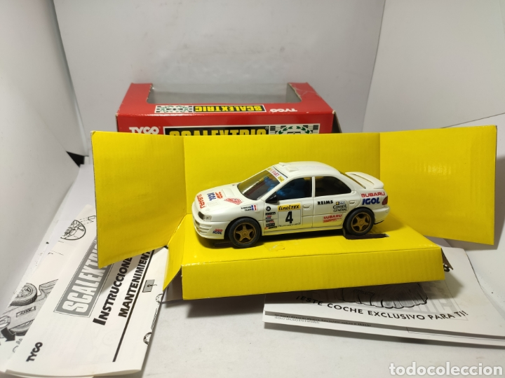 SCALEXTRIC SUBARU IGOL TYCO REF. 8358.09 (Juguetes - Slot Cars - Scalextric Tyco)